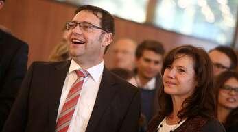 Klaus Muttach wurde am Sonntag als Acherner Oberbürgermeister wiedergewählt.
