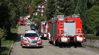 """Bereits am Samstag, 26. September, musste die Feuerwehr zu einem Fehlalarm im """"Bel Air"""" anrücken."""