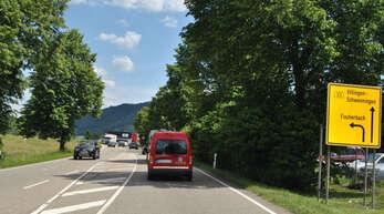 Haslachs Ortseingang aus Richtung Steinach.