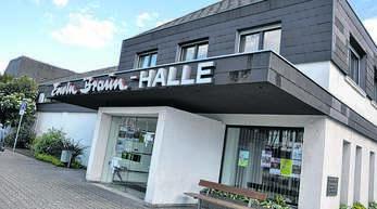 Die Erwin-Braun-Hallein Oberkirch muss für einige Zeit wegen Saneirungsarbeiten geschlossen werden.
