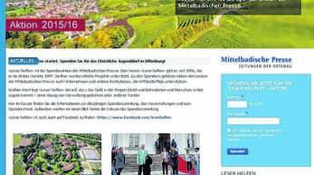 Die Hompepage www.leser-helfen.de bietet zahlreiche Neuerungen. So können User erstmals online spenden und mitteilen, weshalb sie die Aktion unterstützen.
