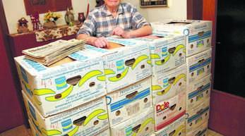 Rudolf Zschocke aus Offenburg-Zunsweier stellt seine Zeitungssammlung »Leser helfen« zur Verfügung.