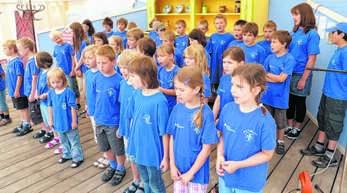 Die Chorjugend soll beim Gesangverein »Freundschaft« weiterhin eine wichtige Rolle spielen.