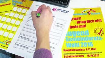 Die Wahl des Jugendgemeinderates von Achern findet nur statt, wenn es mindestens 18 Kandidaten gibt. Bisher liegen erst 15 Bewerbungen vor.