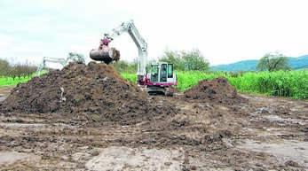 Nach dem Hochwasserereignis 2014 räumte die Stadt Bachsohlen, um den Ablauf, wie hier am Reichenbächle, zu verbessern.
