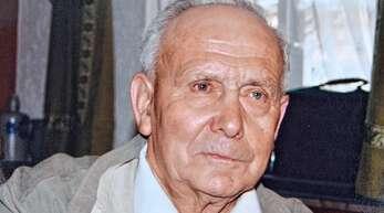Mit 94 Jahren ist Diersheims Alt-Ortsvorsteher Hans Hauß – hier eine Aufnahme von 2005 – verstorben.