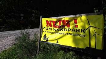 Mit ihrem Nein zum Windpark auf dem Kutschenkopf/Eselskopf weiß die Interessengemeinschaft die Stadt Oppenau hinter sich.