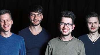 Drei der vier Teilnehmer beim Festival »Four Hours of Music«, das morgen, Samstag, im Laufer Ratssaal stattfindet: Die Niklas Bohnert Band.