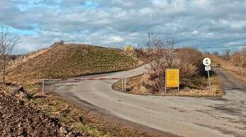 Die Erdaushub-Deponie bei Ottenheim ist fast voll.