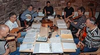 Die »Irish Boys« aus Oberschopfheim (von links): Axel Gallus, Alois Oschwald, Wolfgang Arbter, Sebastian Krämer, Roland Lienhard, Arno Bürkert und Bernhard Krämer.