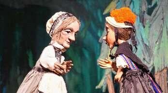 Gelungen bis ins kleinste Detail: die Puppen des Hohenloher Figurentheaters.