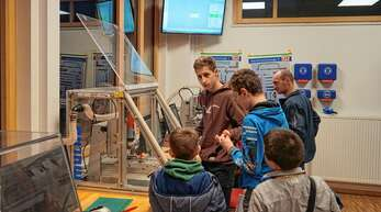 Viel zu entdecken gab es beim Zukunftstag 2018 an der Franz-Rapp-Schule in Oppenau.