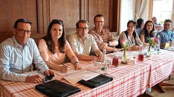 Der Vorstand des Stadtmarlketingvereins Oberkirch besteht aus Josef Leopold, Nadine Klasen, Gerhard Habermehl, Frank Hellstern, Iris Sehlinger, Corinna Oschwald, Hannes Schmidt (von links).