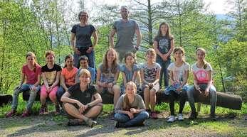 Die Gengenbacher Leichtathletik-Gruppe verbrachte mit ihren Betreuern zwei interessante Tage am Silberbergwerk in Schnellingen.