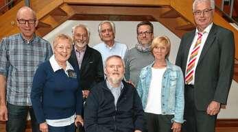 Starke Akteure im Förderkreis Forum Illenau (von links): Markus Tisch, Veronika Braun, Christian Gospos, Klemens Helmholz, Paul Droll, Florian Hofmeister, Iris Glaser und Dietmar Stiefel.