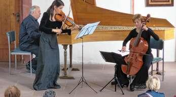 Das »Ensemble Fraal« begeisterte wieder einmal die Besucher im Heiligenzeller Schlössle.