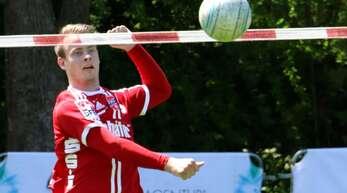 Marius Riffel absolvierte sein letztes Spiel im Trikot des FBC Offenburg.