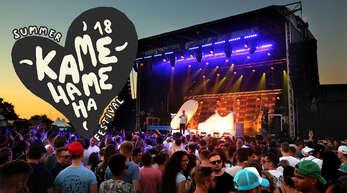 Beim fünften Kamehameha-Festival auf dem Offenburger Flugplatz sorgen neben bekannten DJs wie Sven Väth oder Djane Amelie Lens sowie verschiedene Attraktionen für Stimmung.
