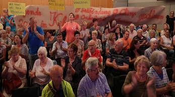 Rund 350 Bürger informierten sich in der Stadthalle über die »Agenda 2030«.