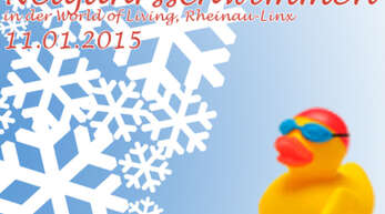 6.500 Euro für den guten Zweck beim Neujahrsschwimmen in Rheinau-Linx