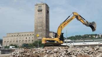 Bau des Tiefbahnhofs Stuttgart 21 beginnt: Proteste erwartet