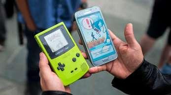 Pokemon-Spiel auf dem Smartphone: Bisher sperrte sich Nintendo gegen den Sprung auf Mobiltelefone und brachte seine Spiele nur für die eigenen Konsolen heraus.