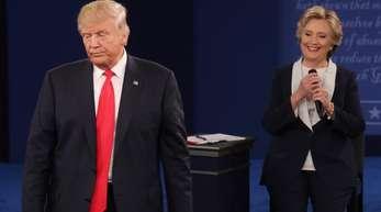 Donald Trump in der zweiten TV-Debatte: «Niemand respektiert Frauen mehr als ich.»