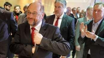Martin Schulz stellte am Abend klar:Ein Gegentor heißt noch nicht, dass das Spiel entschieden ist.