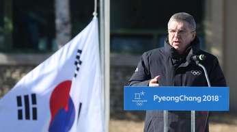 IOC-Präsident Thomas Bach hat das olympische Dorf eröffnet.