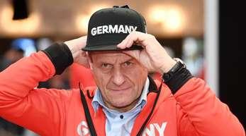 DOSB-Präsident Alfons Hörmann sieht die deutschen Medaillenchanchen in Pyeongchang eher realistisch.