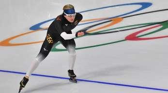 Claudia Pechstein freut sich auf die Olympischen Winterspiele in Pyeongchang.