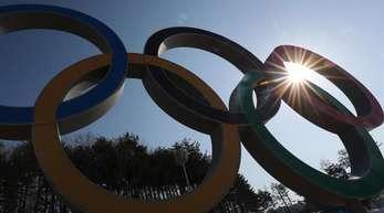 Die Olympischen Winterspiele in Pyeongchang dauern 17 Tage an.