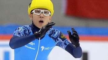 Fehlt bei Olympia: Der russischer Shorttracker Viktor Ahn.