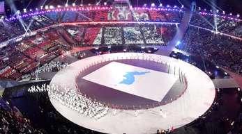 Während der Eröffnungsfeier der Olympischen Winterspiele gab es eine Cyberattacke.