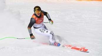 Verpasste bei der Abfahrt eine olympische Medaille: Thomas Dreßen.