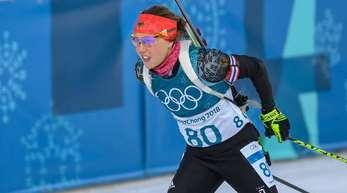 Laura Dahlmeier holte im Einzel die Bronzemedaille.