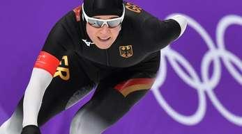 Hat ihre zehnte Olympiamedaille im Visier: Eisschnellläuferin Claudia Pechstein.