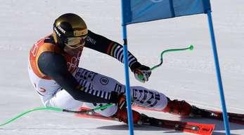 Fuhr im Super G immerhin in die Top-10: Skirennläufer Andreas Sander.