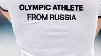Die russischen Sportler starten unter dem Namen «Olympische Athleten aus Russland».