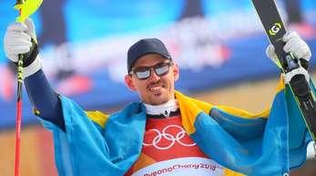 Der 35 Jahre alte Schede Andre Myhrer hat den Slalom gewonnen.