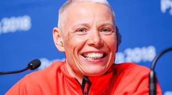 Andrea Eskau wird deutsche Fahnenträgerin bei der Eröffnungsfeier der Paralympics.