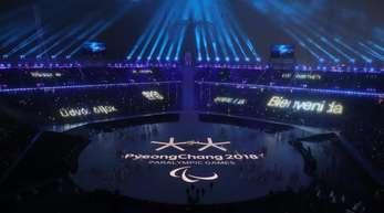 Die Winter-Paralympics in Pyeongchang sind nun offiziell eröffnet.