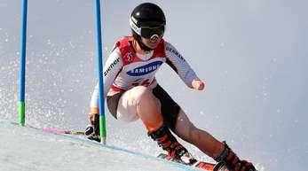 Andrea Rothfuss gewann in Pyeongchang ihre vierte Silbermedaille.
