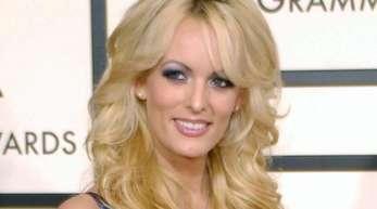US-Pornodarstellerin Stormy Daniels 2008 bei den Grammy Awards.