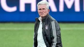 Bayern-Trainer Jupp Heynckes hat einen nüchternen Blick auf die Viertelfinal-Auslosung der Champions League.