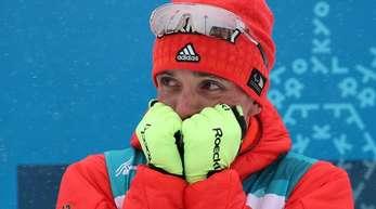 Martin Fleig gewann Gold im Biathlon.