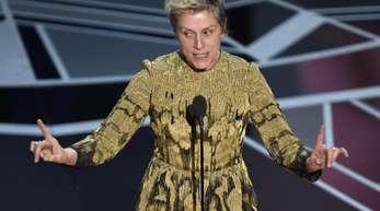 Frances McDormand spricht bei den Oscars: «Es gibt kein Zurück mehr.»