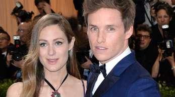 Eddie Redmayne und seine Freundin Hannah Bagshawe 2017 bei der Met Gala.