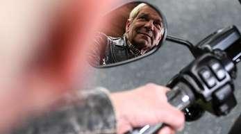 Matthias Reim steht auf die Biker-Gemeinschaft.
