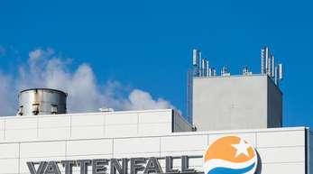 Heizkraftwerk des Energiekonzerns Vattenfall. Das schwedische Unternehmen will im Zuge seines Sparprogramms in Deutschland 600 Stellen abbauen.